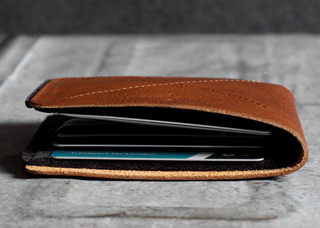 Refined Bill Fold Wallets