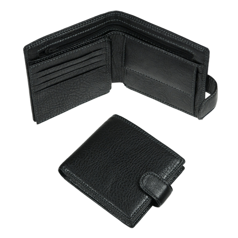 Delicate Black Wallet For Men