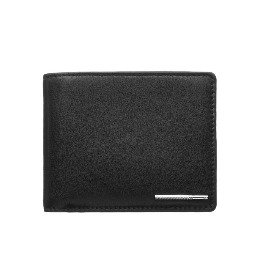 Comely Black Wallet Mens