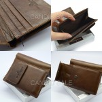 Charming Black Wallet With Coin Pocket