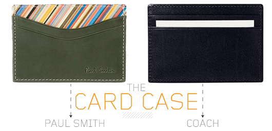 Amiable Card Case Wallet
