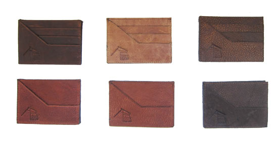 Delicate Leather Card Wallets