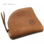 Triangle Leather Coin Purse For Men