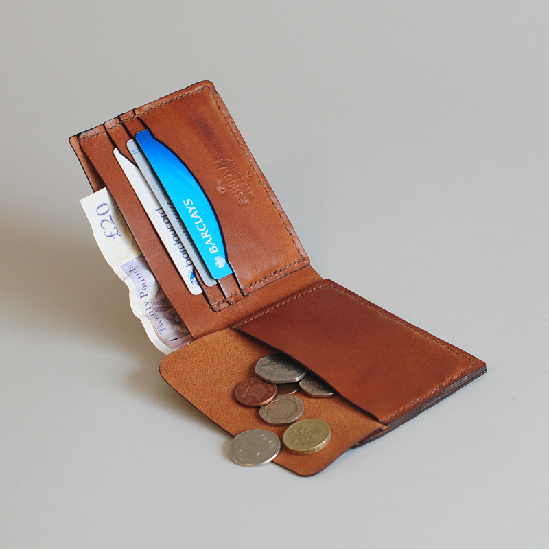Cool Leather Coin Wallet