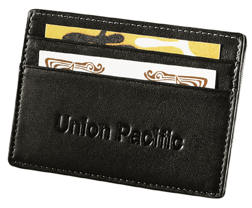 Divine Leather Credit Card Case