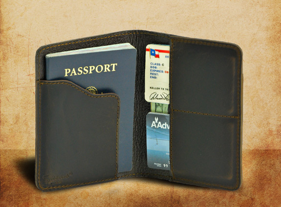 Amazing Leather Passport Wallet