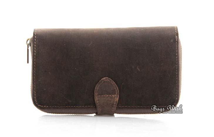 Fine Leather Purse For Mens