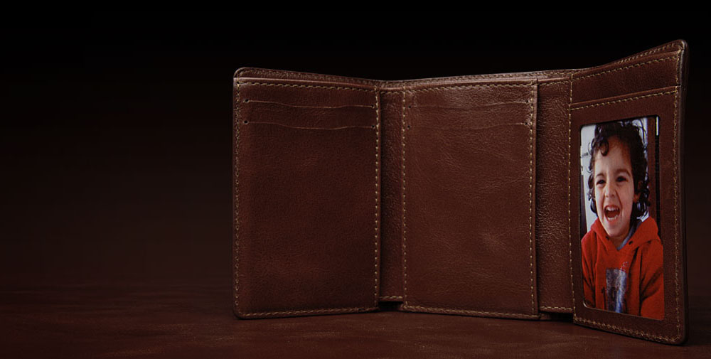 Well Formed  Leather Trifold Wallet