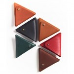 Cute Triangle Men Coin Wallet