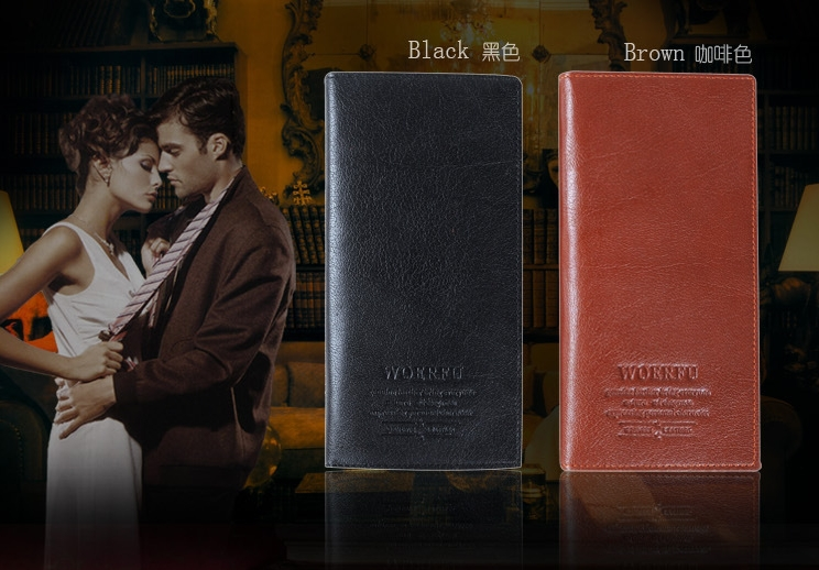 Black Brown Men Wallets On Sale