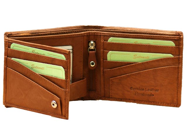 Ravishing Mens Billfold With Coin Pocket
