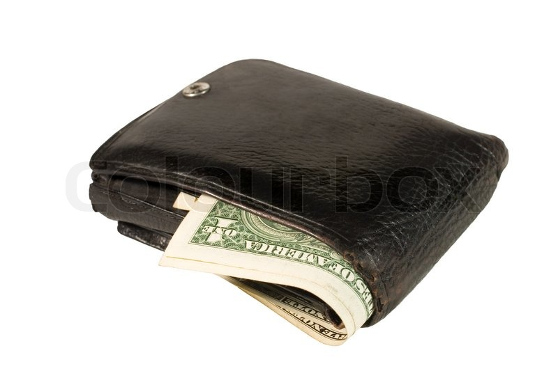 Simple Mens Black Leather Wallets