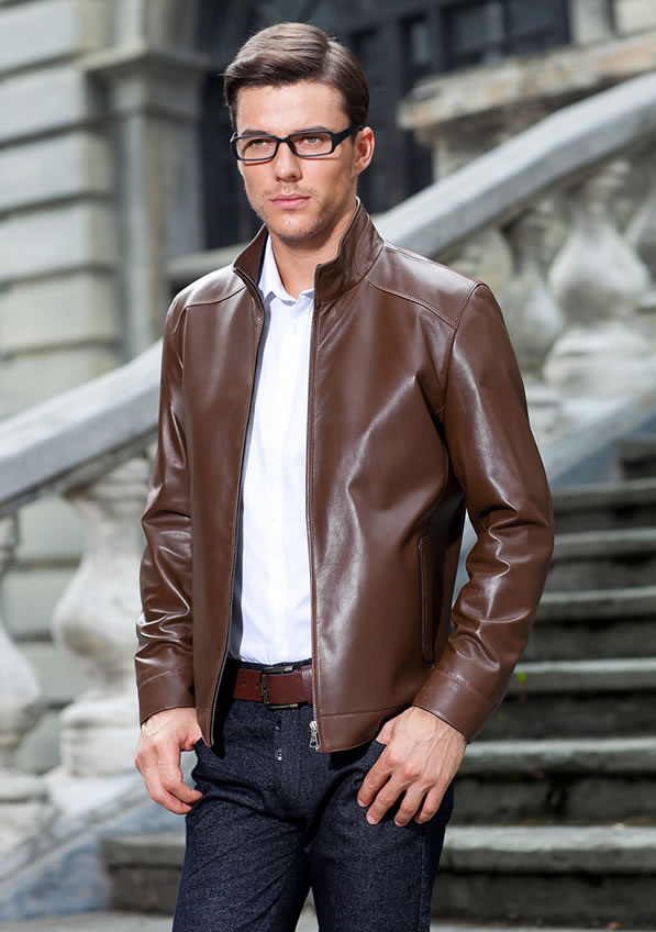 Smart Mens Leather Clothing