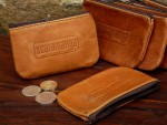Scaramanga Mens Leather Coin Wallet