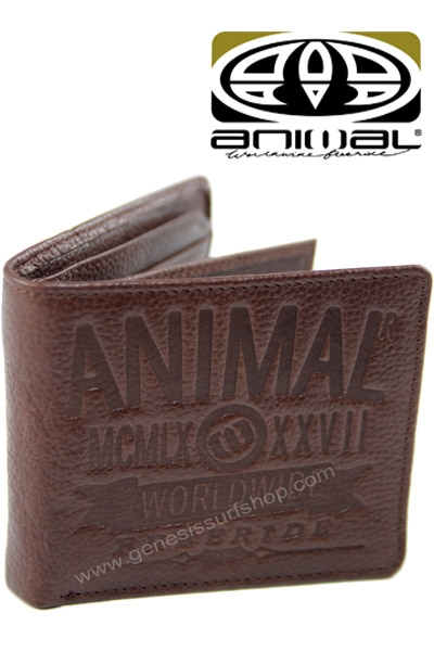 Animal Mens Leather Wallets Uk