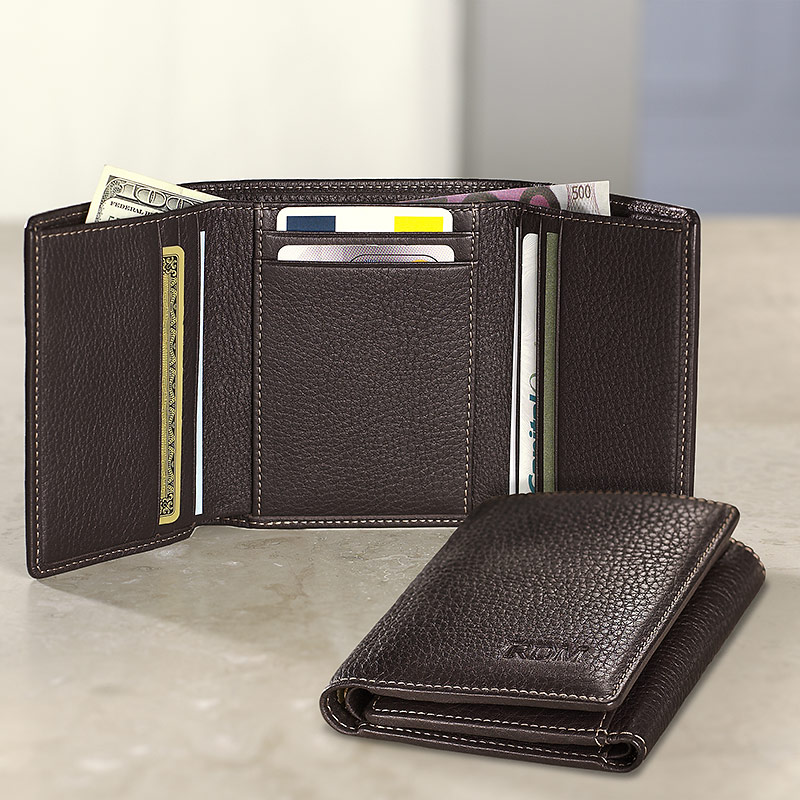 Wonderful Mens Tri Fold Wallet
