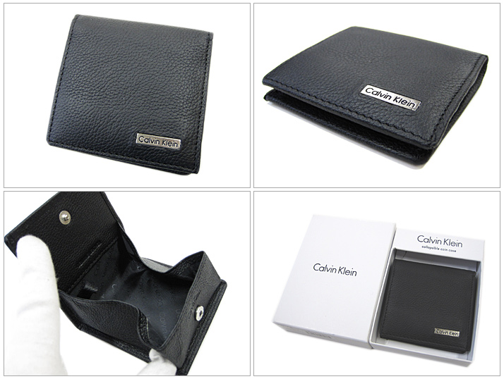 Calvin Klein Mens Wallet Coin Pocket