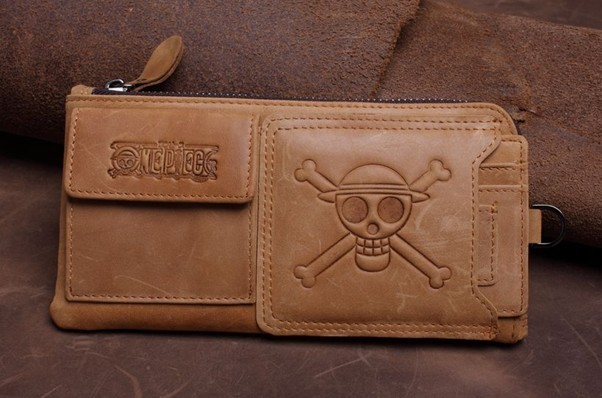 Skull Mens Wallet Long