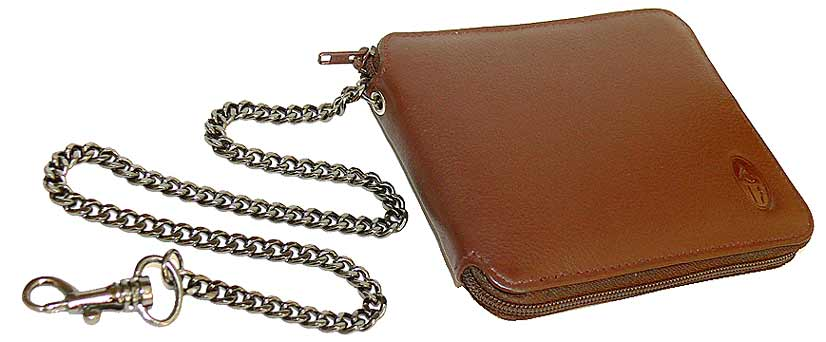 Delightful Mens Wallet With Chain