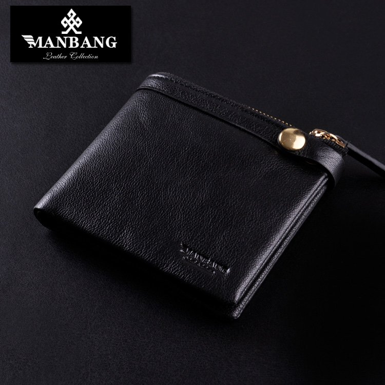 Graceful Mens Wallet With Zipper