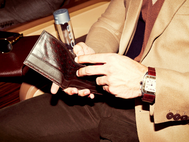 Resplendent Slim Wallets Men