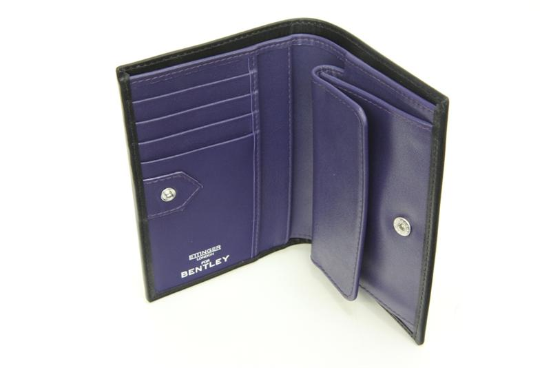 Violet Wallet With Coin