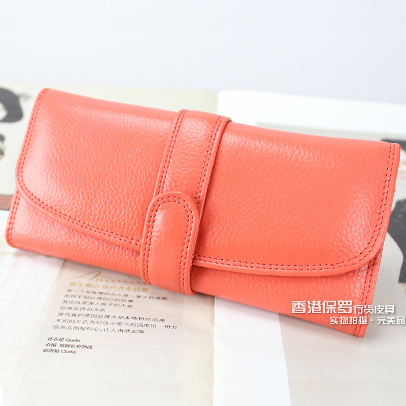 Salmon Womens Leather Wallets