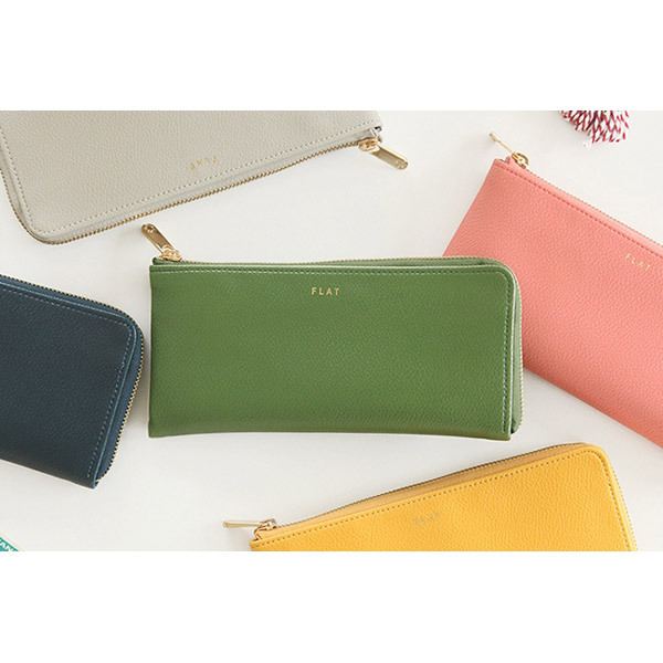 Colorful Zip Around Wallets