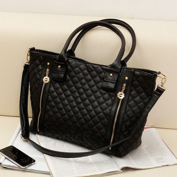 Hobo Black Handbag