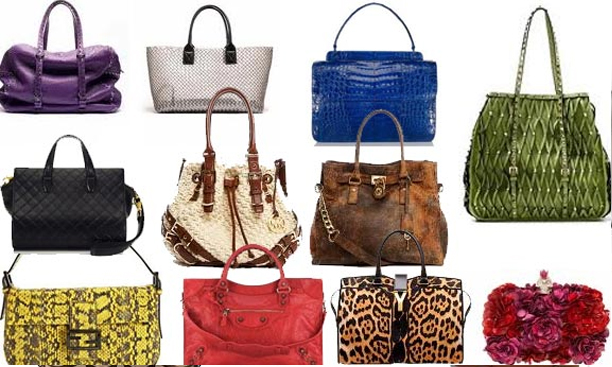 Various Designer Handbags