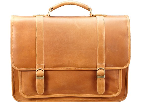 Simple Leather Satchel