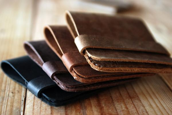 Slim Leather Wallets