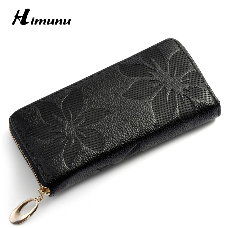 Flowered Wallet For Women