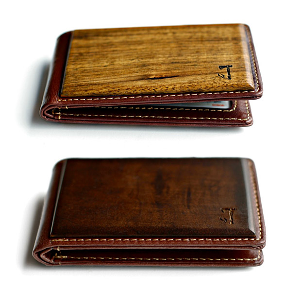 Slim Timber Wallets