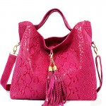 Bright Pink Women Handbags
